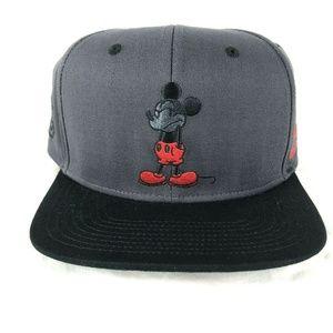 61f1870cd NEFF x Disney Mickey Mouse Dark Gray Snapback Hat NWT